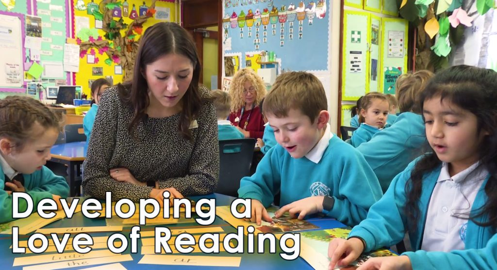 developing a love of reading